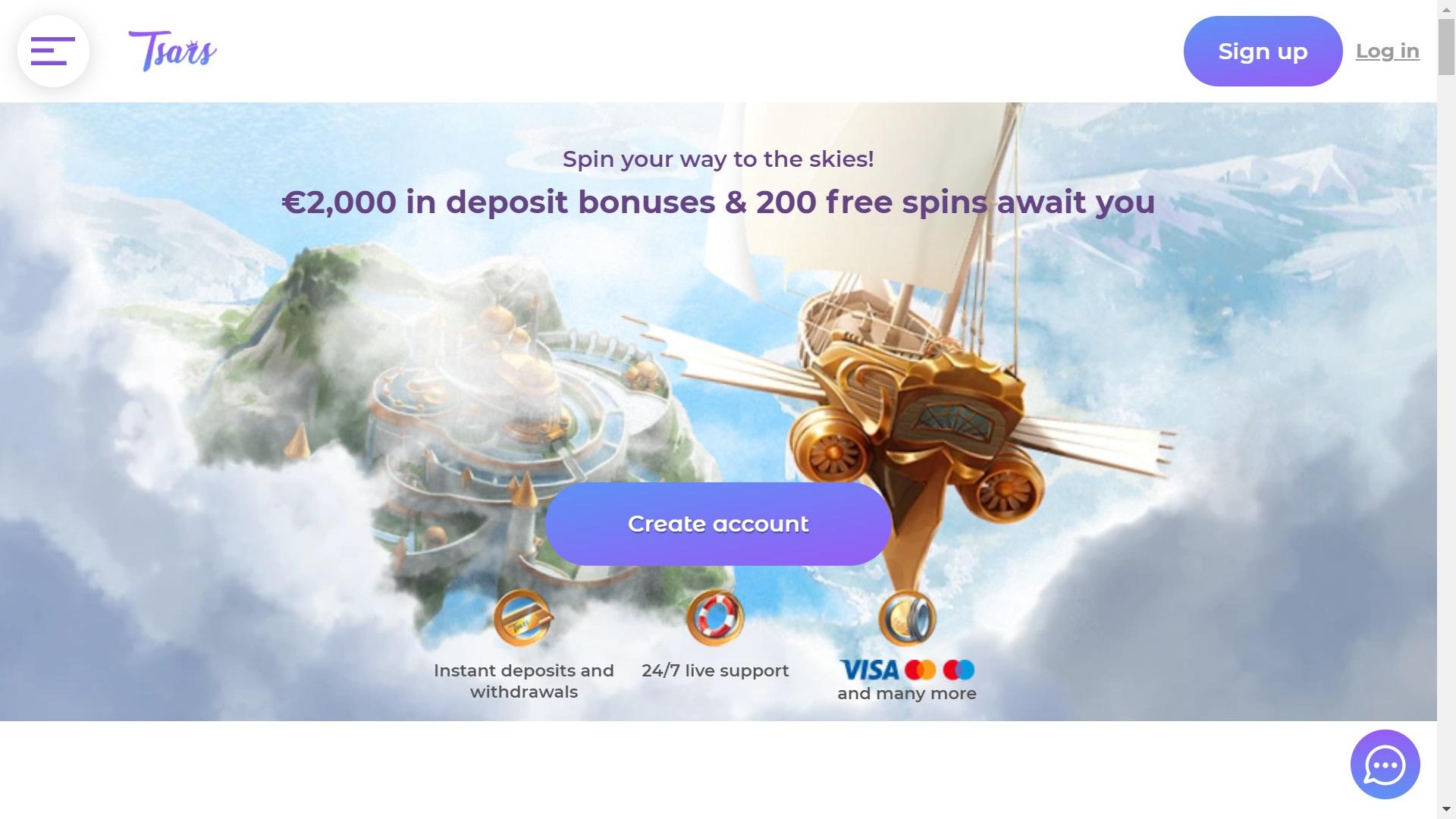 Tsars Casino - svensklicens.com